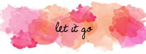 Week 11 ~ Let it go