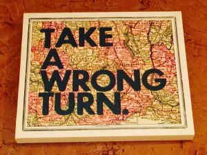 Finding Joy by Taking a Wrong Turn